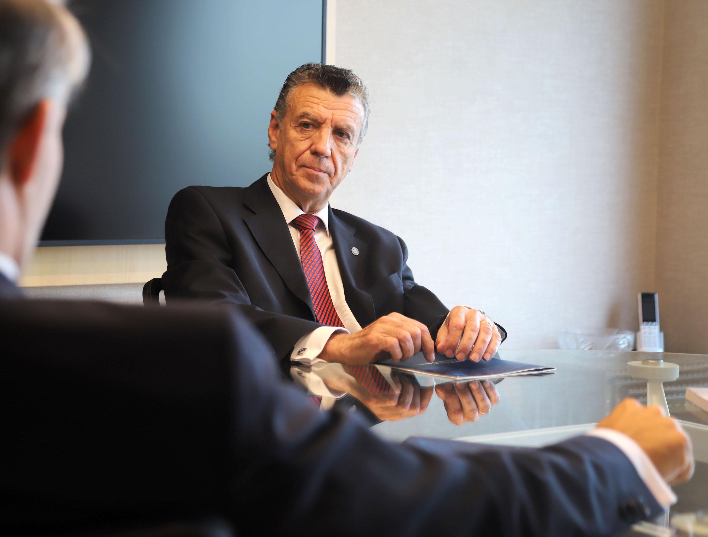 Natalio Mario Grinman, presidente de la CAC