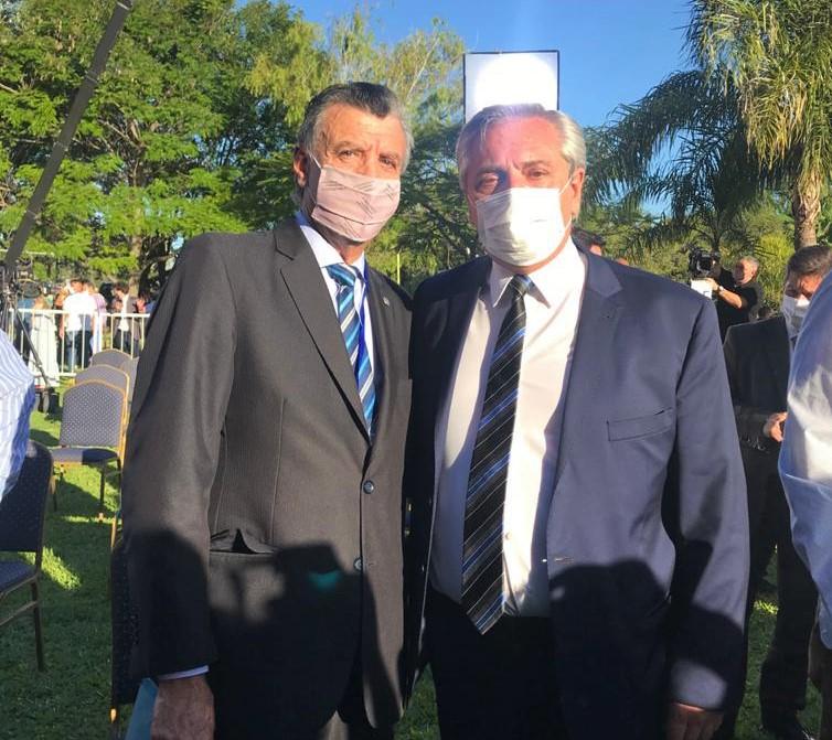 Grinman y Fernández en la última reunión del Consejo Económico y Social
