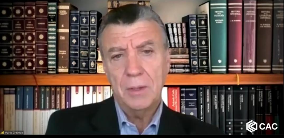 Mario Grinman, presidente de la CAC