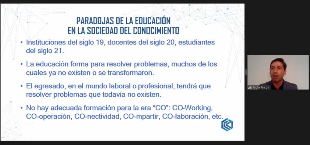 Paulo Falcón, asesor de EDUCAC